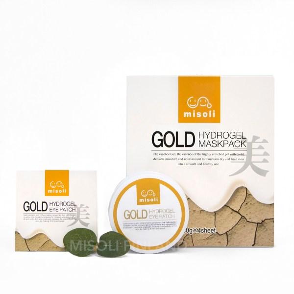 misoli Gold Mask & Patch Setti