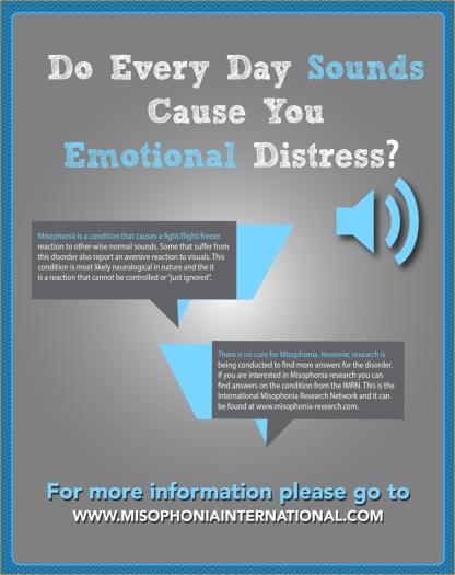 sound distress misophonia