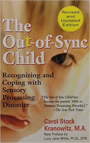 The Out-of-Sync Child: Recognizing and Coping with Sensory Processing Disorder A classic book on children with Sensory Processing problems. Written by an ex-kindergarten teacher with a true understanding of young children and their sensory issues.
