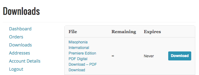 misophonia downloads