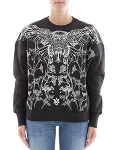 Alexander Mcqueen Femme 485346Qjz080901 Noir Coton Sweatshirt
