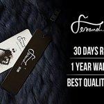 Ferand – Elégant Poncho Cape Chaude en Fourrure de Lapin Véritable Tricoté avec Col en Raton-laveur pour Hiver – Femme – Bleu Marine