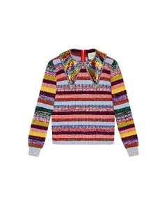 Gucci Femme 478200X5v485017 Multicolore Laine Maille