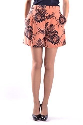 Prada Femme Mcbi244038o Multicolore Soie Shorts