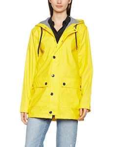 Petit Bateau Finou, Manteau Femme, Jaune (New Yellow), Medium (Taille Fabricant: M)