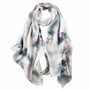 Story of shanghai foulard femme mousseline de soie coloré écharpe châle léger élégant
