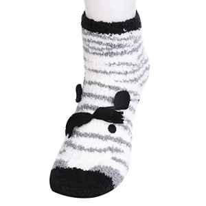 Decha Femme Fille 1 Pièce Chaussettes Classique Chaud Socquette Coton Confortable Respirante Renne Imprimé