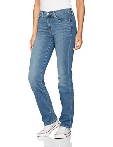 Levi's 314 Shaping Straight, Jean Droit Femme, Bleu (East Side 49), W27/L30