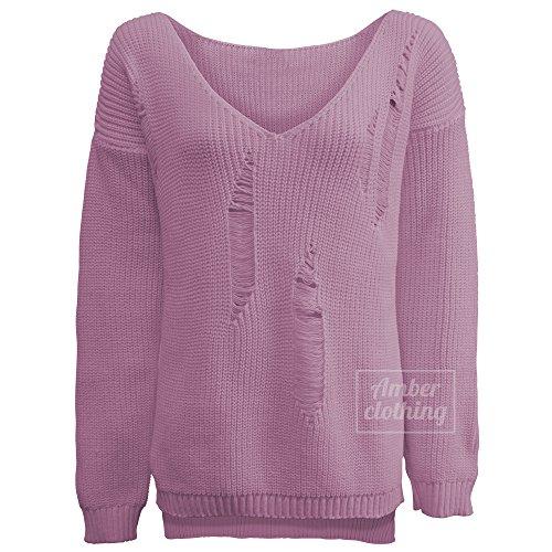 Blush Avenue – Haut de pyjama – Femme – rose –