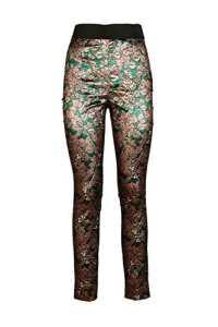 Dolce&Gabbana leggings femme jacquard vert EU 42 (UK 30) FTANETFJM2CS8350