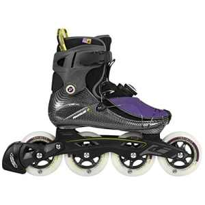 Powerslide Rollers de fitness femme 41 – Noir/violet