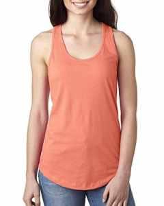 Next Level – Pull sans manche – Femme – Orange – Medium