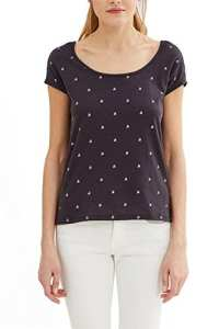 edc by Esprit 037cc1k045, T-Shirt Femme, Multicolore (Dark Blue), 36 (Taille Fabricant: Small)