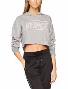 Double Agent 87270, Sweat-Shirt Femme, Gris (Gris Vigore Medio), Small