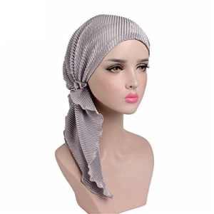 EINSKEY Turban Femme Mode Chic Été Foulard Bandana Hijab pour Chimio, Cancer, Douche, Maquillage, Chute Cheveux, Dormir