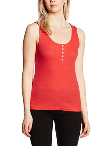 Melissa Brown Vogue – Haut de pyjama – Femme – Orange (Corail) – Large (Taille fabricant: L)