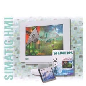 Siemens ST802–Logiciel WINCC/industriel V7.2128étiquette