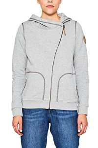edc by Esprit 107cc1j022, Sweat-Shirt Femme, Gris (Medium Grey 5 039), X-Small