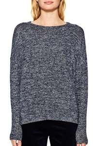 Esprit 117ee1j005, Sweat-Shirt Femme, Bleu (Navy 400), Small