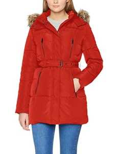 Pepe Jeans Betties, Manteau Imperméable Femme, Rouge (Royal Red), Medium (Taille Fabricant:M)