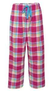 Boxercraft Women's Fashion Flannel Pajama Pant (Medium, Caribbean)
