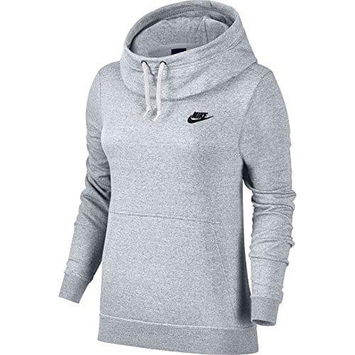 Nike Sweat à Capuche col cheminée, Femme, Pull à Capuche