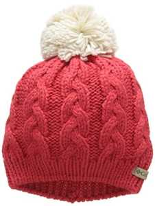 Columbia in-Bounds Beanie Bonnet Femme, Red Camellia/Chalk, FR Fabricant : Taille Unique
