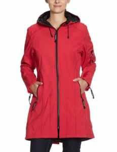 Ilse Jacobsen – Vêtement de pluie – Femme – Rouge (37) – FR : 46 (Taille fabricant : 44)