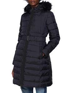 United Colors of Benetton – 2DA55K265 – Coat – Doudoune à capuche – Femme – Noir (Black 100) – FR: 40 (Taille Fabricant: 44)