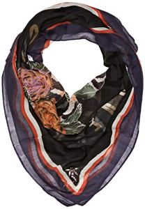 Guess Foulard, Mouchoirs Femme, Multicolore (Flower and Snake Bla F90c), Unique (Taille Fabricant: One)