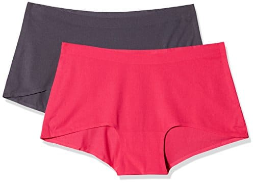 Sloggi Women Move Shorty C2p, Base Layers De Sport Femme, Rose (Pink-Dark Combination M020), S