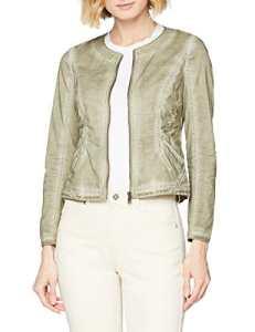 TAIFUN by Gerry Weber Blazer Langarm, Veste de Costume Femme, Vert (Olive Green 50754), 38