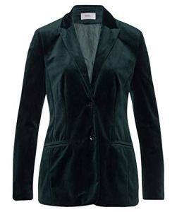 Brax Lima 99-6507, Veste de Costume Femme, Grün (Dark-Green 33), 46