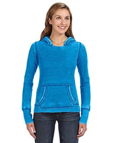 J. America pour Femme Ja8912Ladies Zen Pull Sweat à Capuche XS Oceanberry Blue