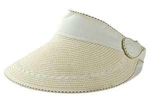 LAAT Casquette à Visière Femme Eté Anti-UV Chapeau de Soleil Pliage Doux et Léger Etanche Multi-Usage Vide Chapeau Bouchon pour Plage Voyage