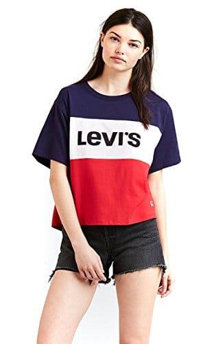 Levis Colorblock J.V. Tee Graphic Colorblock M