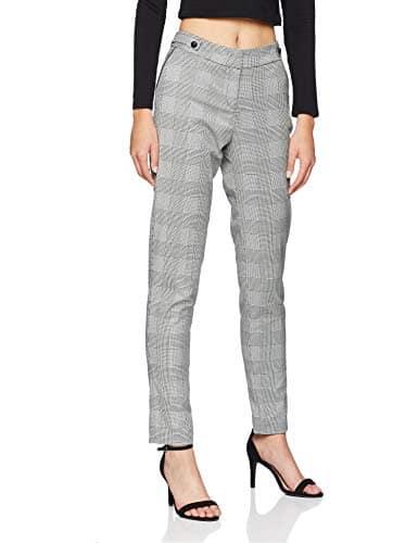 Morgan 182-PALOMA.F, Pantalon Femme, Multicolore (Noir/Blanc 100), W30 (Taille Fabricant: T40)