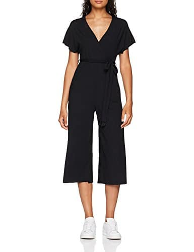 New Look 5656890, Combinaison Femme, Noir (Black 1), 46 (Taille Fabricant: 18)