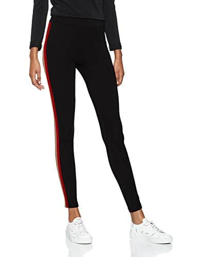 New Look Camel Red Tape, Legging Sculptant Femme, Noir, 24W (Taille du Fabricant : 6)