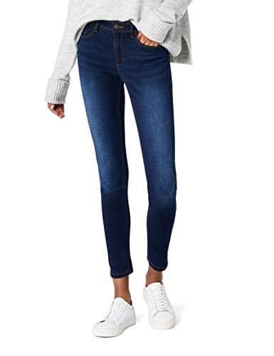 ONLY 15077791 SKINNY SOFT ULTIMATE 201 Skinny Jeans, Femme, Bleu (Dark Blue Denim), L/L32 (L)