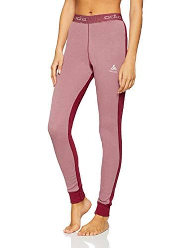 Odlo Collant Active Revelstoke Warm Femme, Rumba Red/Mesa Rose, FR : M (Taille Fabricant : M)