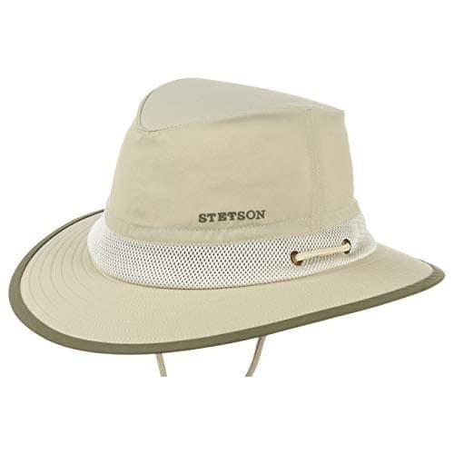Stetson Chapeau Keewatin Traveller chapeau decontracte chapeau de peche (XL/60-61 – beige)