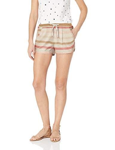 BILLABONG Femme J203PBRO Shorts – Blanc – Taille M