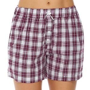 Hawiton Femme été Shorts et Bermudas Pantalon Fluide Casual Ample Elastique d'intérieur Jogging Détente Yoga Pants Grande Taille Pantalon Court Sport Shorts Rose M