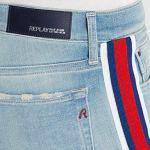 Replay Vivy, Jean Slim Femme, Bleu (Light Blue 10), W27/L28 (Taille Fabricant: 27)