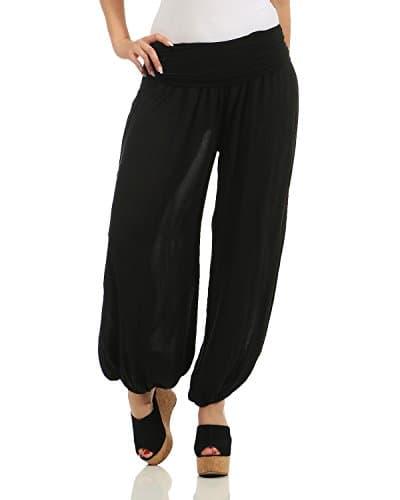 ZARMEXX dames bloomers pantalon sarouel style été imprimé all over pantalons occasionnels Sarouel