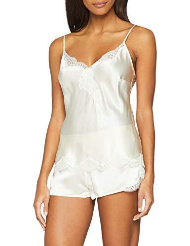 Aubade d'amour Haut de Pyjama Femme Beige (Nacre Nacr) 36 (Taille Fabricant:1) Lot de