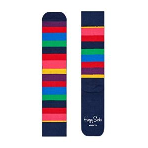 Chaussettes Happy Athletic rayures – multicolore – Large