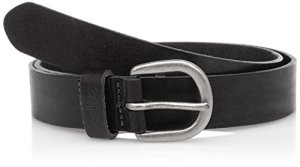 LEVIS FOOTWEAR AND ACCESSORIES Icon W Ceinture, Noir (Black), (Taille Fabricant:75) Femme