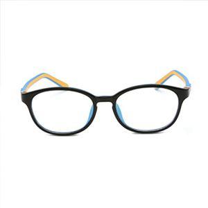 Lunettes de jeu, Lunettes anti-fatigue oculaire Lunettes de vue en silicone souple pour lunettes de vue en silicone souple à la mode sans cadre-3